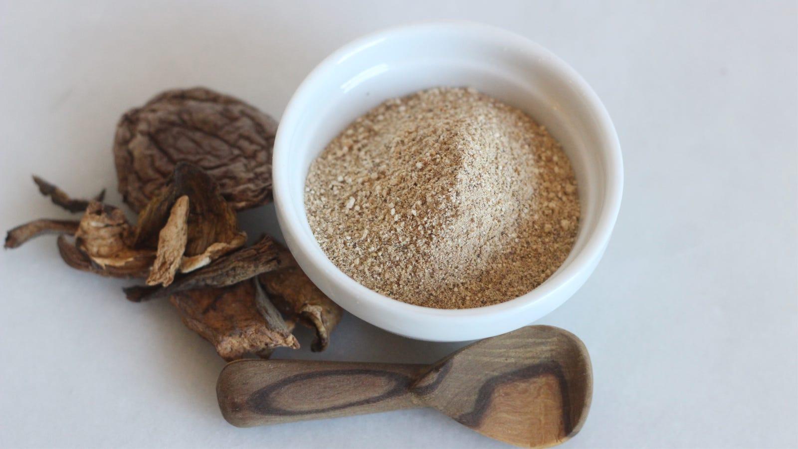 Make a Better Trader Joe's 'Umami Powder' With Dried Mushrooms