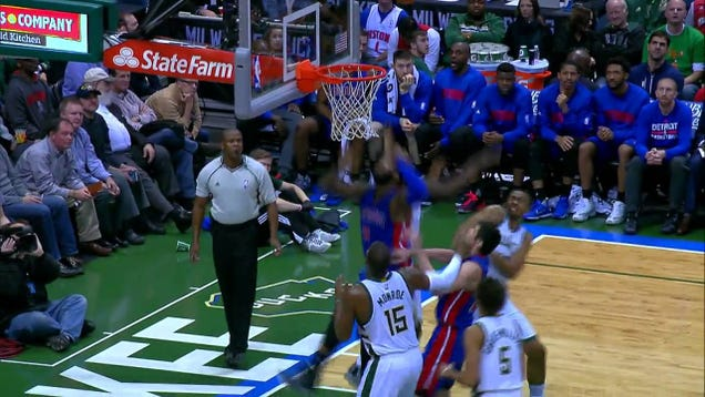 How To Get Four Offensive Rebounds In 11 Seconds, Starring Andr…