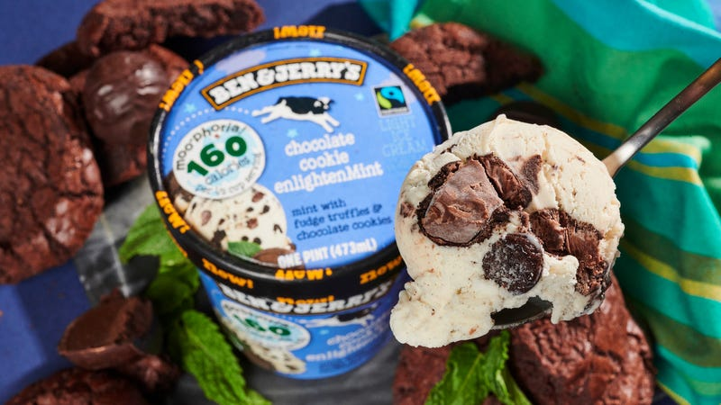 Illustration for article titled Ben & Jerry's debuts 4 new low-cal Moo-phoriaflavors