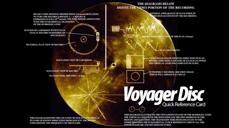 Voyagers - the Golden Record