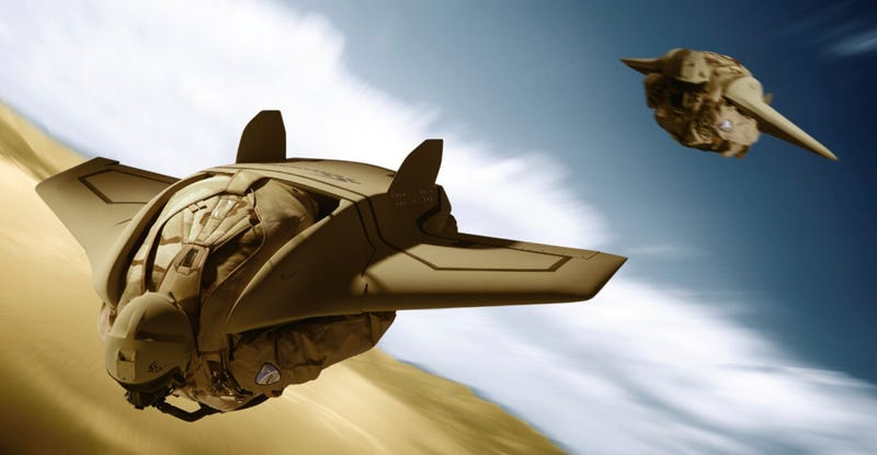 Illustration for article titled Special Forces Soldiers Could Be Zooming Into Combat Wearing Gryphon Stealth Wingsuits