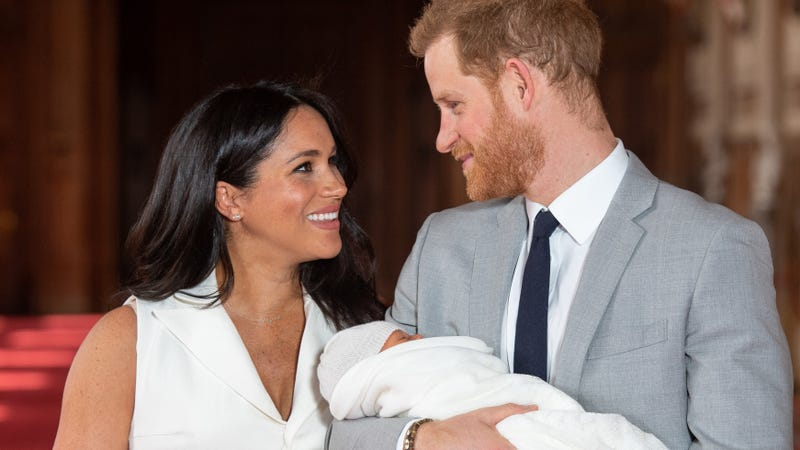 Illustration for article titled For Father's Day, the Duke and Duchess of Sussex Shared a Rare Glimpse of Baby Archie