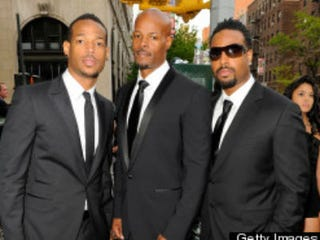 Marlon, Keenen Ivory and Shawn Wayans (Getty Images)