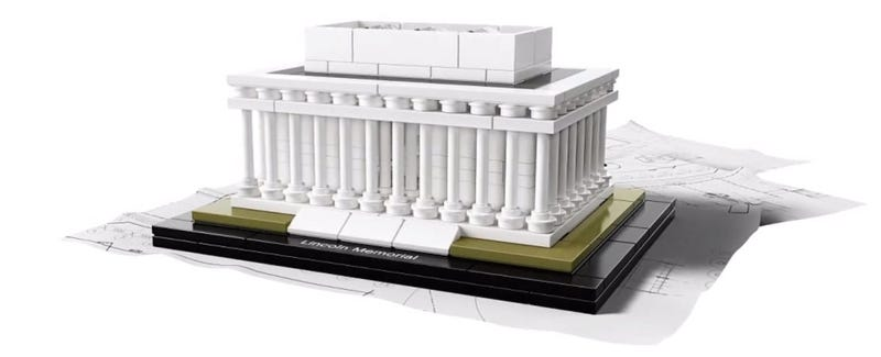 new 2015 lego architecture sets: lincoln memorial and flatiron
