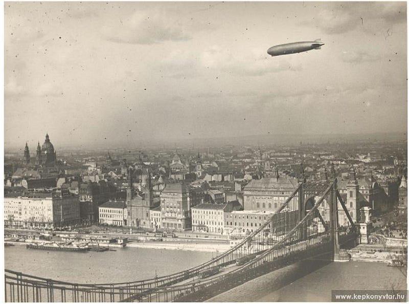 Illustration for article titled Budapesten is lehetett Zeppelinnel járni