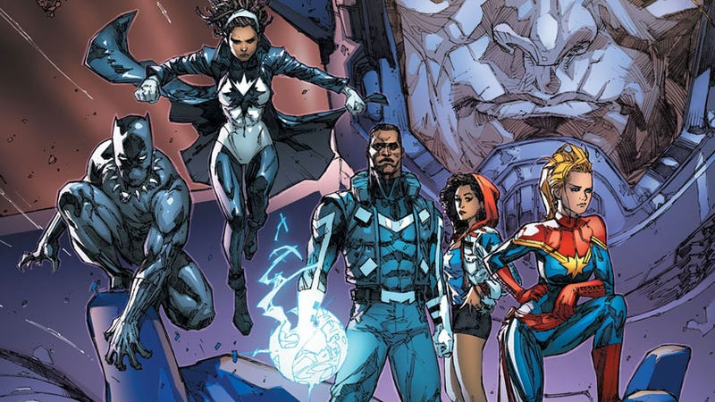 Illustration for article titled The New Ultimates Team Is Trying to Solve Marvel's Galactus Problem
