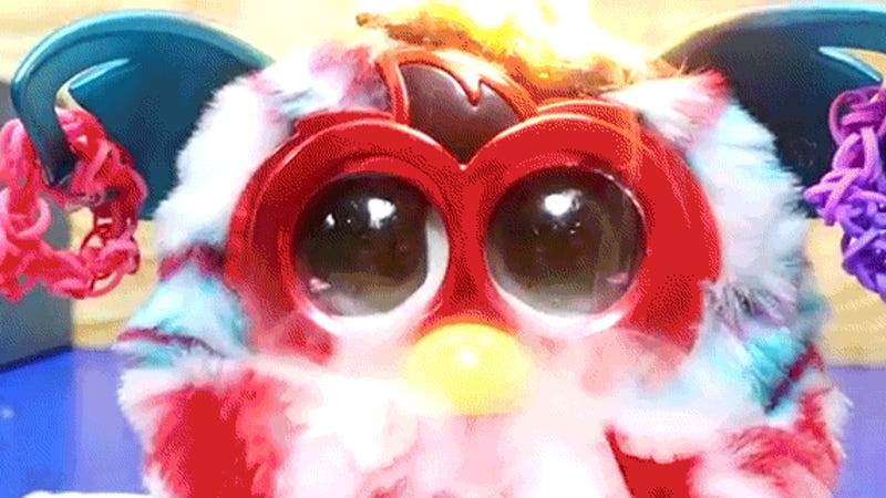 photo image Watch a Furby Cry Tears of Smoke While It Burns to Hell From the Inside
