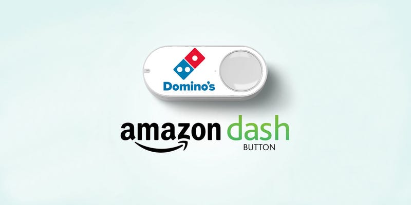 Illustration for article titled American Hero Hacks Amazon Dash Button to Order Pizza