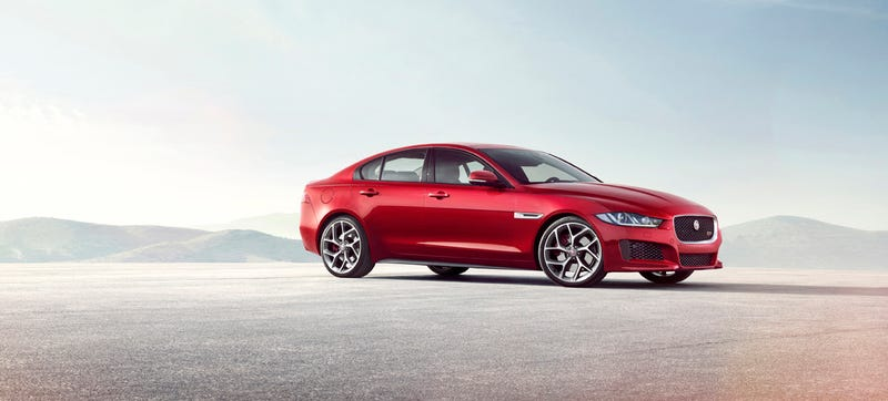 Illustration for article titled 2016 Jaguar XE: This Is It