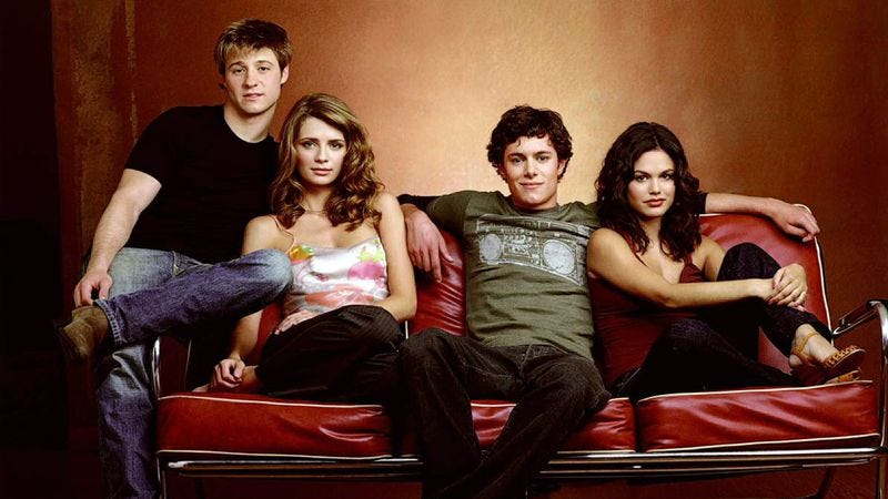 The cast of The O.C.