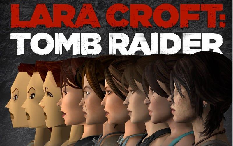 Illustration for article titled Todas las caras de Lara Croft a lo largo de la saga Tomb Raider
