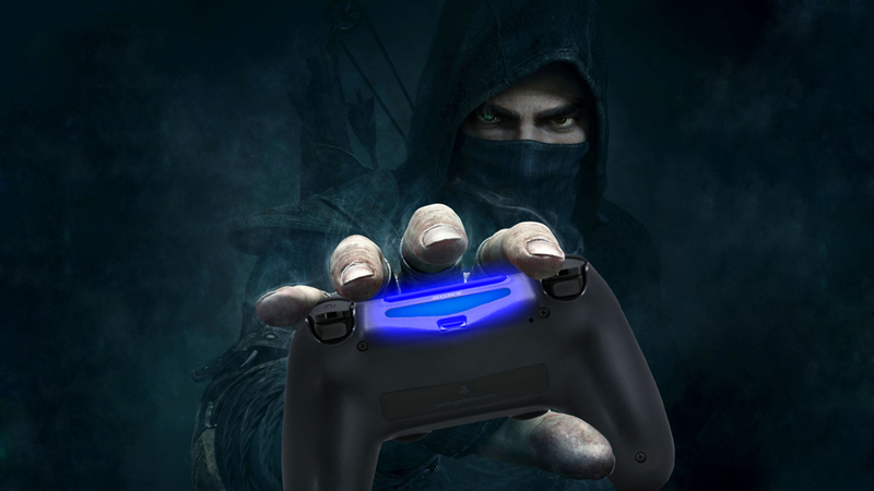 Illustration for article titled An Illuminating New Use For The PS4 Controller