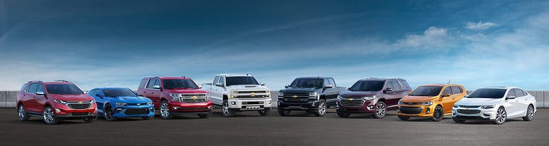 Illustration for article titled A list of every single new Chevrolet around the world: Part 1