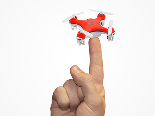 Illustration for article titled Save 50% On This Ultra-Stealth Nano Drone ($20)