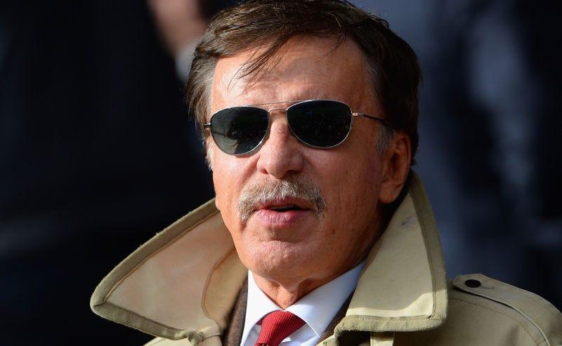 Rams/Arsenal/Nuggets/Avalanche/etc. honcho Stan Kroenke (Image via Getty)