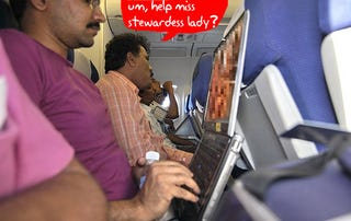 Illustration for article titled In-Flight Entertainment Could Go Wireless, But You'll Have to Bring Your Own Screen