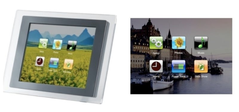 Igala Wireless Photo Frame Has Touchscreen Own Gmail Account