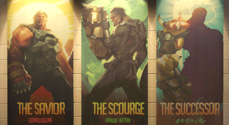 Blizzard finally reveals some info on Overwatch character Doomfist