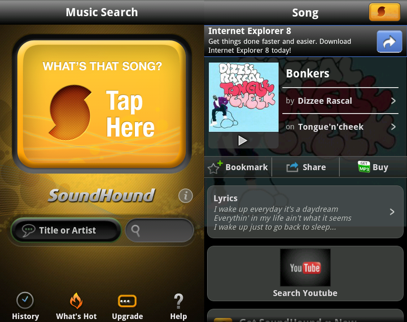 download soundhound for android