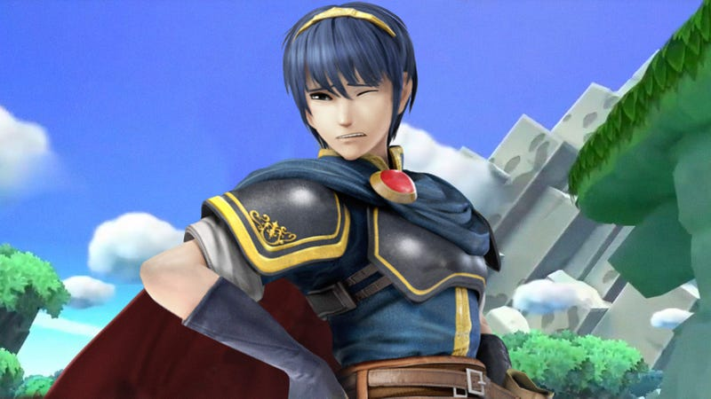 Illustration for article titled Going Too Far?: Nintendo Has Responded To Complaints That Marth Is Too Overpowered In 'Smash' By Giving Him Fibromyalgia