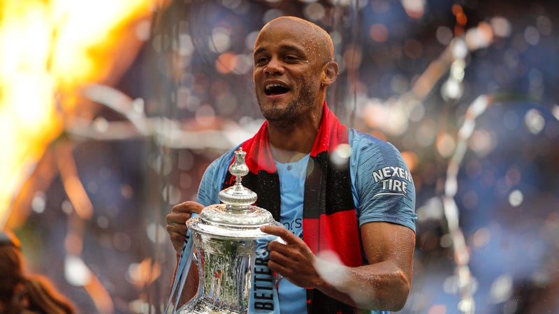 Illustration for article titled Vincent Kompany Is Leaving Manchester City To Become Player-Manager Of Belgium's RSC Anderlecht
