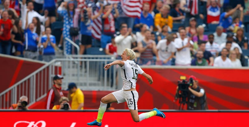 Illustration for article titled USWNT Defeat Australia 3-1, But Still Have Room To Improve