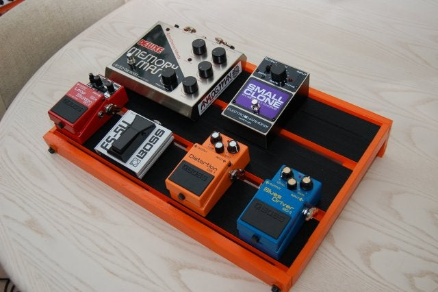 diy pedalboard with some help from ikea. Black Bedroom Furniture Sets. Home Design Ideas