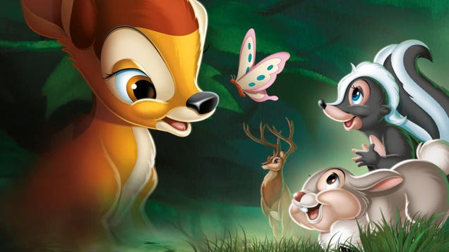 Disney Is Going to Kill Bambi's Mom Again
