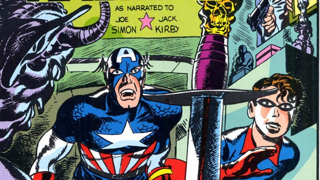 R I P  Joe Simon, Co-Creator of Captain America and