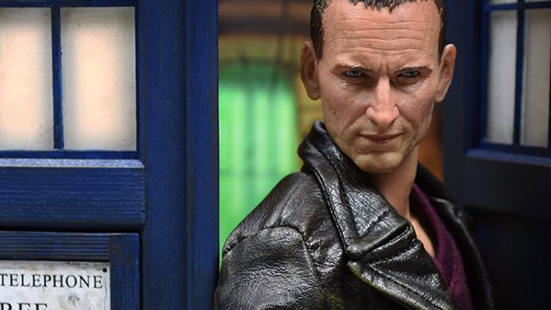 Illustration for article titled This Christopher Eccleston Doctor Who Figure Really Is Fantastic