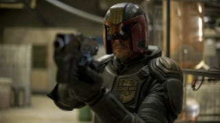 Illustration for article titled Dredd is a brutal action flick with both a high body count and a brain