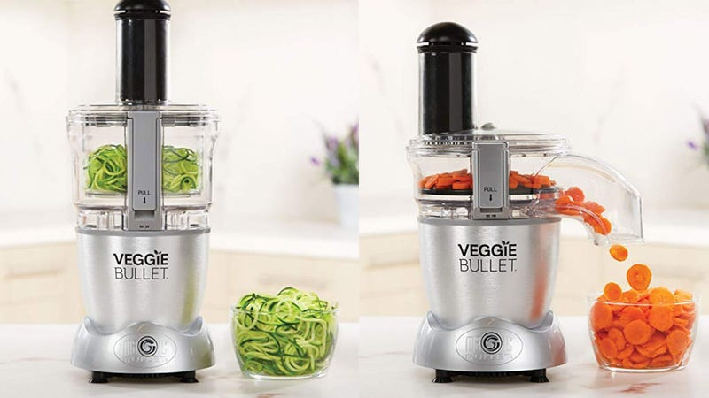 Veggie Bullet Electric Spiralizer & Food Processor   $60   Amazon