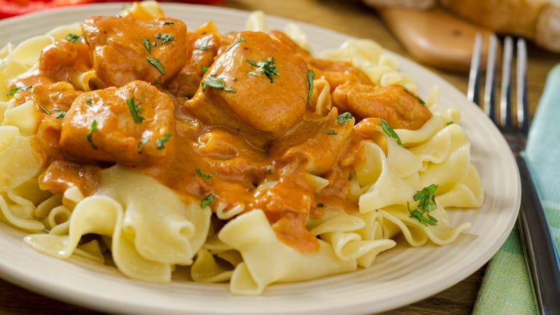 Illustration for article titled Easy chicken paprikash might be the best dish my mom ever taught me