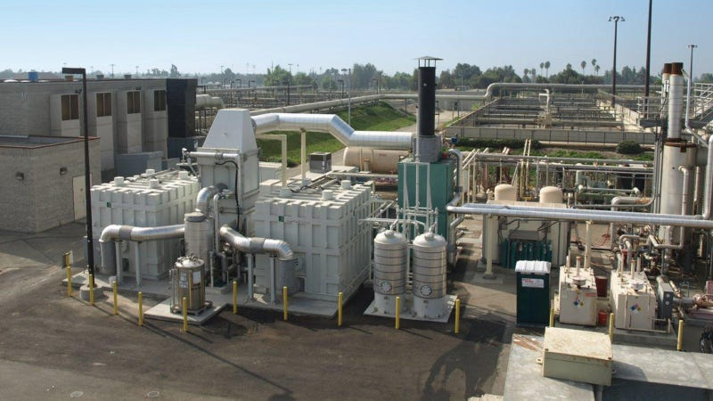 Illustration for article titled This SoCal Water Treatment Plant Is Powered by Poop