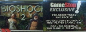 Illustration for article titled GameStop Pre-Order Reveals BioShock Multiplayer Characters