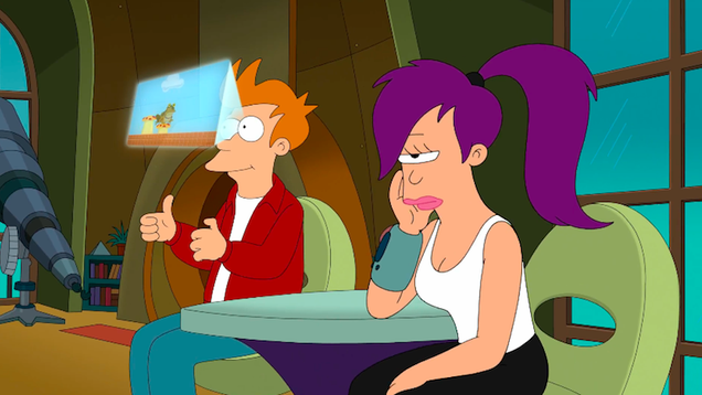 good news everyone futurama lives on this time as a mobile rpg