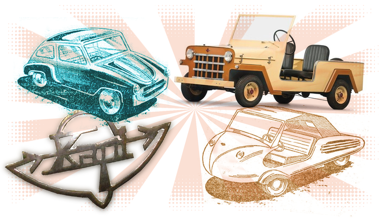Illustration for article titled One Of The Weirdest Car Companies You Never Heard Of Was A Pioneer Of Knockoffs