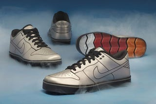 Illustration for article titled These Nikes Were Inspired By The DeLorean