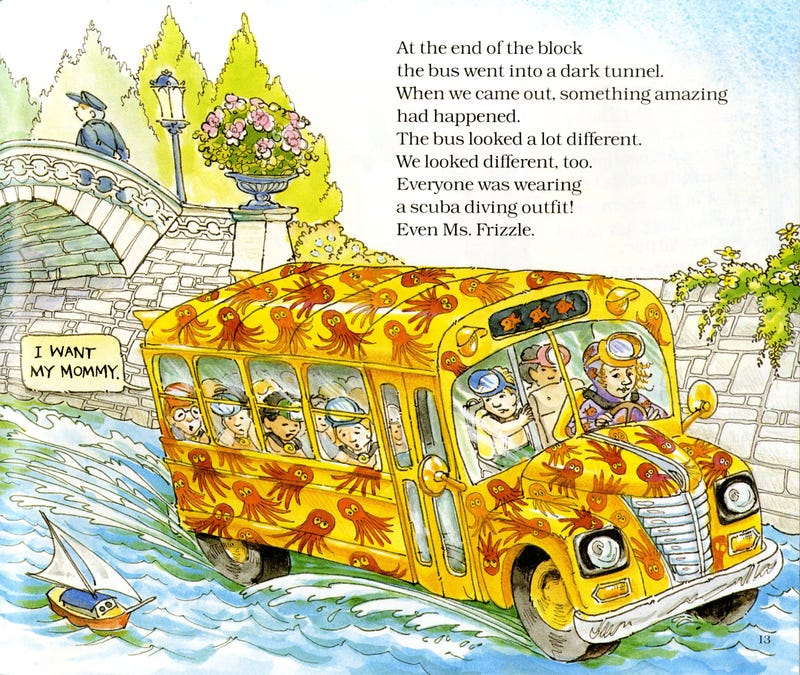 Illustration for article titled What real-life model is the Magic School Bus based on?
