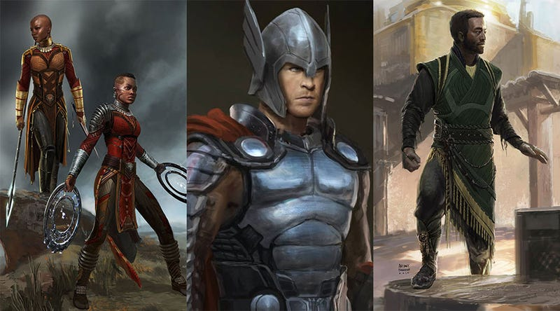 Illustration for article titled Some Art From Black Panther & Thor: Ragnarok