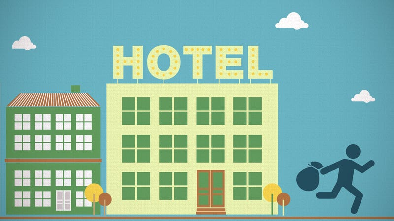 Illustration for article titled What Can (and Can't) You Take from Hotel Rooms?