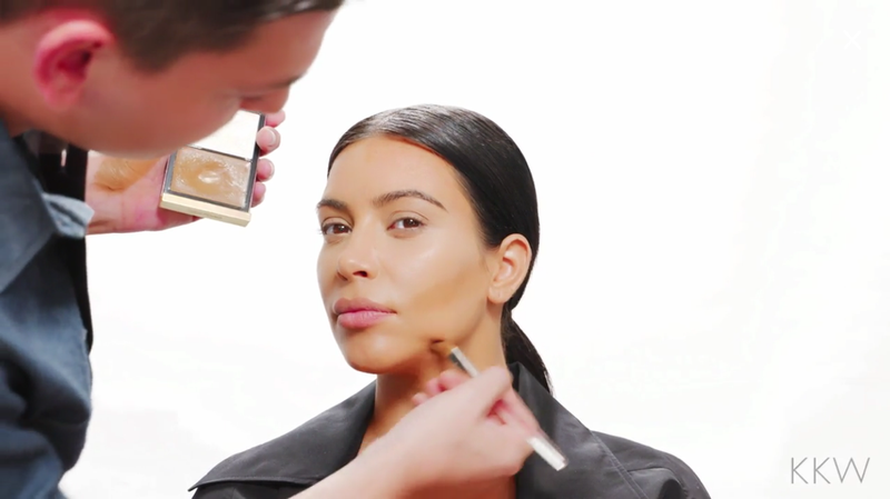Illustration for article titled Kim Kardashian Is Missing From Kim Kardashian's New Makeup Tutorials