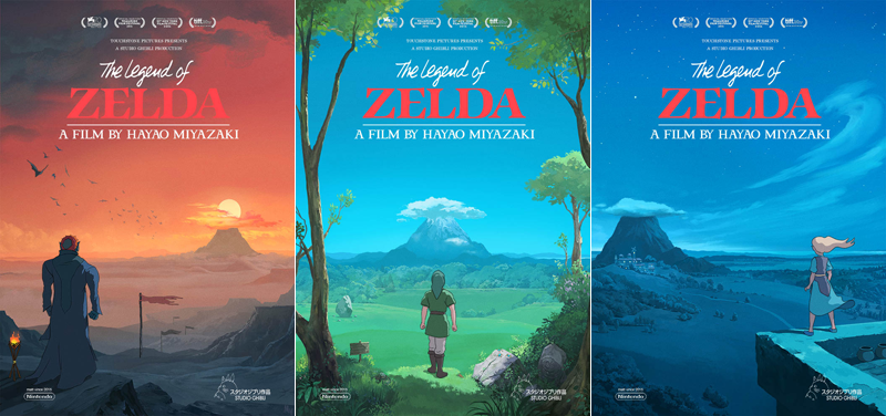 Illustration for article titled If The Legend of Zelda Were A Ghibli Movie