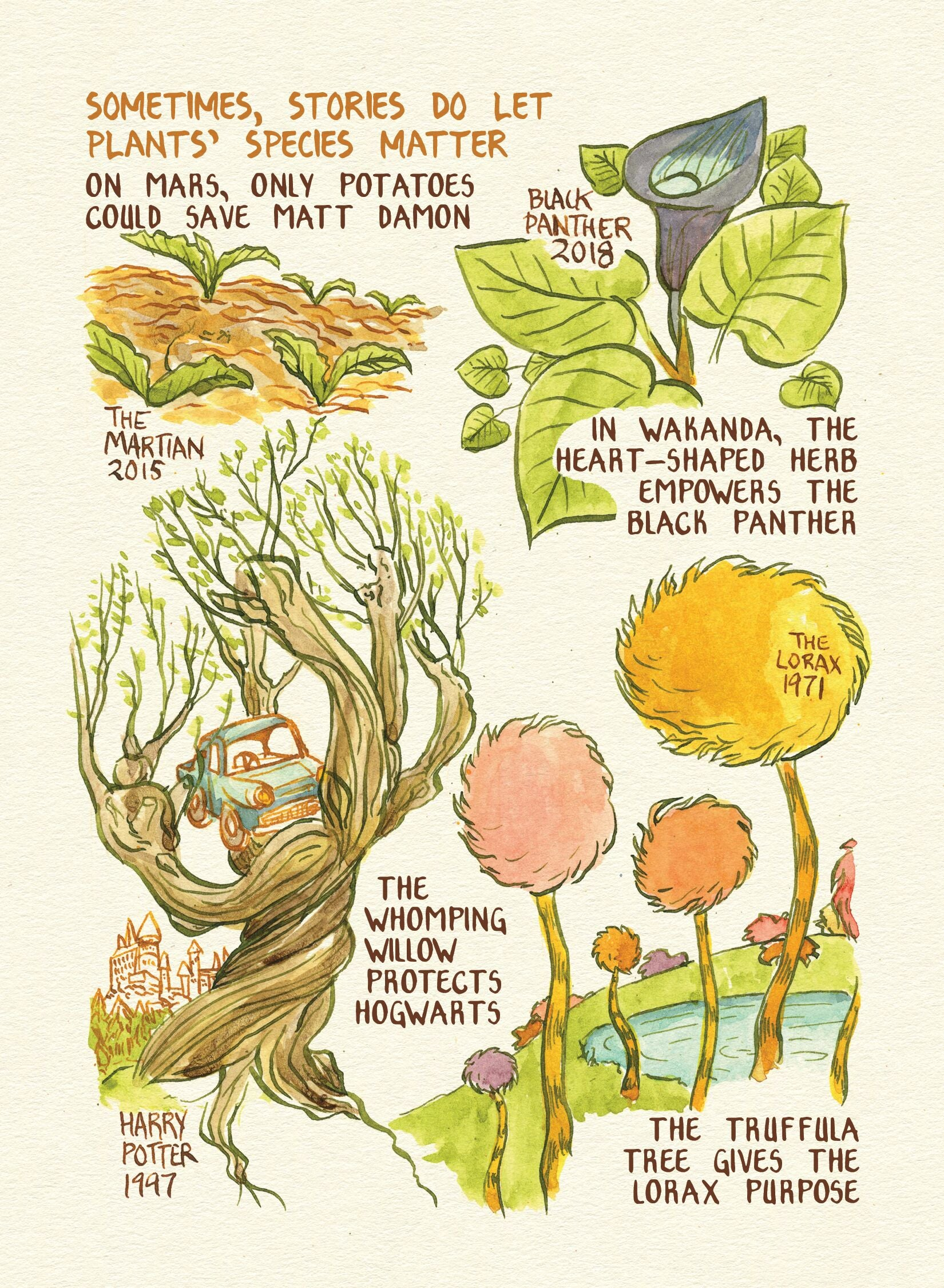 Seeing Plant Literacy Through Skyrim