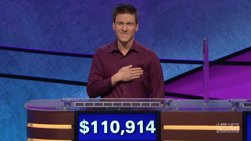 Illustration for article titled Jeopardy! Contestant Crushes Single-Game Winnings Record