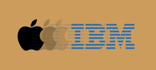 Illustration for article titled Apple e IBM unen fuerzas en el mercado de software empresarial