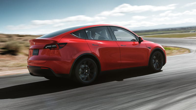 Illustration for article titled The Tesla Model Y Came With No Surprises and That's the Point