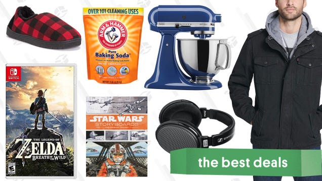 Sunday s Best Deals: Coats and Jackets, KitchenAid Mixers, Switch Games, And More
