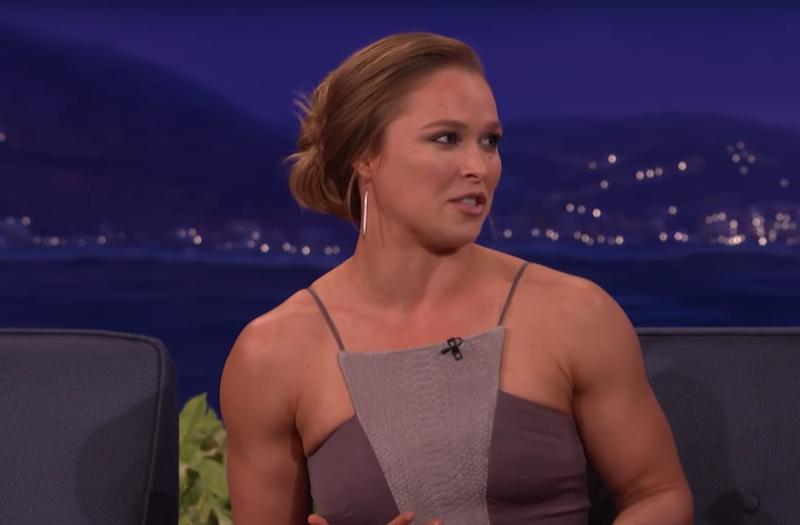 Ronda Rousey on Conan