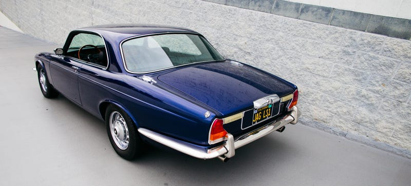 This Corvette Powered 1976 Jaguar Xj Coupe Was Perfect